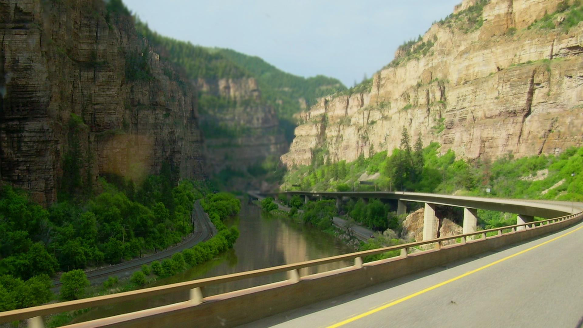 I-70 at Glenwood Canyon