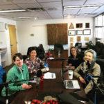 Paige Singer, RMW, Ashley Nettles, USFS, Michelle, CPW, Erica Prather, RMW at Dillon Ranger District
