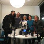 Wild Minds of the Wild I-70 Audio Tour project. Left to right: Stephen Brackett, Kevin Larkin, Erica Prather, Paige Singer, Tehri Parker