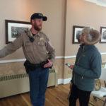 Joe Walter, Colorado Parks and Wildlife, and Erica Prather. Big horn sheep segment.
